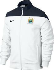 Manchester City Nike white woven polyester football training jacket 13-14 XS-XXL