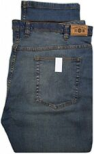 Big Men's Harbor Bay Jeans Fixed Waist Tinted Blue Waist 46 - 56 #310T