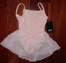 NWT GIRLS BLOCH DANCE DRESS CL3977 Classic Camisole skirted leotard