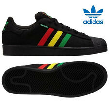 Adidas Originals Superstar II Hemp Rasta Colors Sneakers New in Box