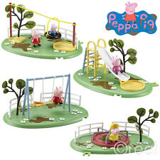New Peppa Pig Muddy Puddle Playground Playset Swings Slide Zipline Or Roundabout