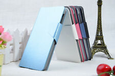 Silk pattern PU Leather Flip Wallet  Stand Case Cover For Nokia XL