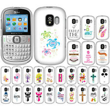 For GoPhone AT&T Alcatel One Touch 871A Case Accessory HARD Cover Hakuna Matata