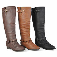 Brinley Co. Women Tall Wide Calf Boots