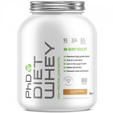 PHD DIET WHEY FAT BURNER DRINK SLIMMING SHAKE LOSE WEIGHT MEAL - CLA GREEN TEA