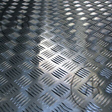 250mm x 250mm x 2mm Aluminium Checker Plate, Treadplate, Sheet Plate