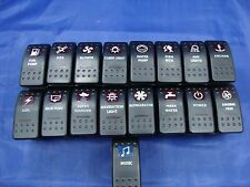 MARINE, BOAT, HOUSE BOAT, FISHING BOAT, BASS BOAT, ROCKER SWITCHES NEW ITEM