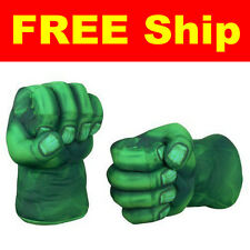 Marvel the Avengers Hulk Smash Hands Soft Toy Doll Boxing Gloves Funny Cosplay