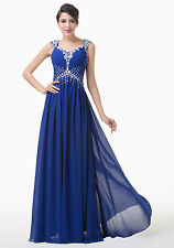 ~Sale~ Sequins Maxi Long Prom Bridesmaid Dresses Backless Formal Evening Gowns