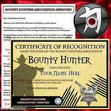PERSONALISED BOUNTY HUNTER GIFT PACK + CHRISTMAS GIFT FOR HIM HER