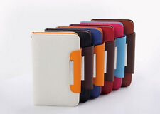 New 4 inch PU Leather flip cover Case For Huawei Y300 Y320 smart cell phone
