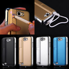 New Cigarette Lighter Smoking Back Case Cover For Samsung Galaxy Note II 2 N7100