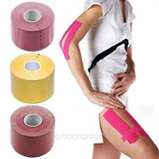 Sport 5m x 5cm Athletic Muscle Care Elastic Physio Therapeutic Tape HOT 2014