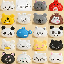 Hot Cute Cartoon Animal Silicone Coin Purse Wallets Rubber Cosmetic Bag 20 Types