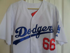LA Dodgers Yasiel Puig MLB Cool Base Home Sewn Jersey sz M/L/XL/2XL