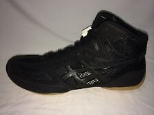 Asics MatFlex 4 Men's Wrestling Shoes-Black/Onyx-J306N 9099-US men size