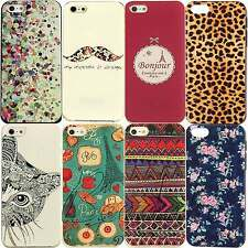 Hot Classic Paint Pattern Phone Hard Skin Cover Case For Apple iPhone 5C 5S 4 4S