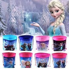 Pop Frozen Figure Environmental Drawstring Bag Pouch Storage Toys Clothes