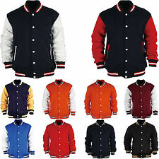 Mens Womens American Style Varsity Baseball Letterman College University Jacket
