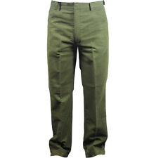 Mens Quality Olive Moleskin Shooting Trousers Casual Country Wear New Pants