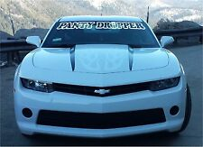 Panty Dropper Windshield decal sticker turbo large truck sexy adult camaro big