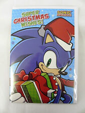 OFFICIAL SONIC THE HEDGEHOG CHRISTMAS CARD