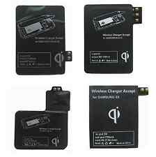Qi Wireless Charger Charging Receiver Kit For Samsung Galaxy Smartphone Newest