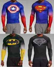 ** SUPERMAN BATMAN CAPTAIN** Under Armour Men's Alter Ego Compression Shirt