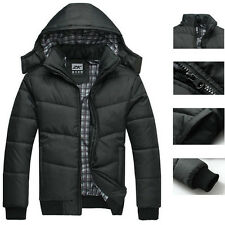 NEW Men's Warm Hoodie Hoodey Coat Parka Winter Coat Outwear Jacket