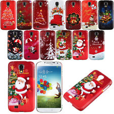 Fashion Merry Christmas Xmas Phone Hard Cover Case for Samsung Galaxy S4 i9500