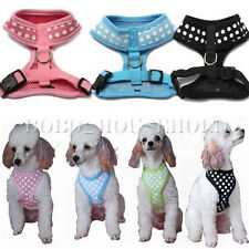 New Pet Dog Cat Puppy Cute Vest Adjustable Harness Braces Soft Mesh Clothes#1015
