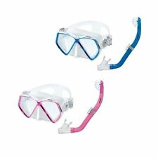 Head Combo Pirate Mask Dry Snorkel Youth Kids Set Scuba, Diving, Snorkeling