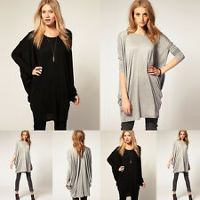 New Fashion Women Ladies' Loose Casual Batwing Sleeve Long T Shirt Tops Blouse