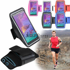 For Samsung Galaxy Note 4 Sports Gym Armband Case Cover Cycling Running Jogging