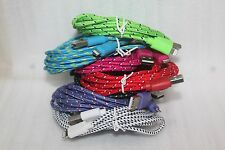 10 feet long braid Lighting USB cable data sync Charging cord For Iphone 6 6Plus