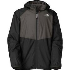 The North Face Youth Warp Tide Reversible Rain Jacket Black