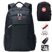 "SWISSGEAR Waterproof Backpack Rucksack 15.6"" Laptop Bag Travel Satchel Schoolbag"