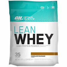 OPTIMUM NUTRITION LEAN WHEY PROTEIN FAT BURN WEIGHT LOSS POWDER SHAKE MUSCLE ON