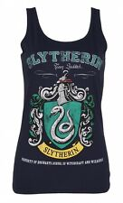 Official Ladies Navy Harry Potter Slytherin Team Quidditch Vest