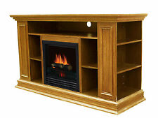 """Stonegate Boston Media 50"""" TV Stand with Electric Fireplace"""