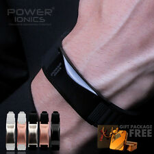 Power Ionics Mens Womens 3000ions Titanium Magnetic Bracelet Healthy Lover Gifts
