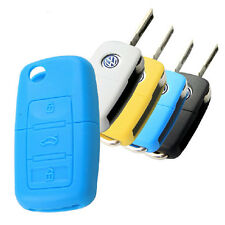 New Keyless Entry Remote Fob Silicone Key Cover Case For VW Car Vehicle keys