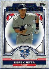 2014 TOPPS UPDATE WORLD SERIES HEROES SINGLES U PICK COMPLETE YOUR SET
