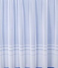 Quality White Net Curtains MADE TO MEASURE ANY WIDTH ANY DROP ALL SMALL SIZES