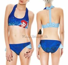Disney The Little Mermaid Ariel Swim Top Bottoms Separates Bikini Swimsuit NEW
