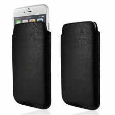 Genuine Leather Case Soft Slim Pouch Sleeve Cover Design Real Wallet Shell Nappa
