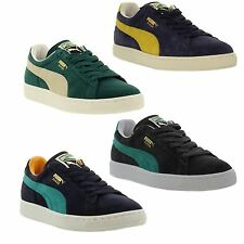 Puma SUEDE CLASSIC Mens / Womens Classic Suede Fashion Trainers Sizes UK 4 - 12