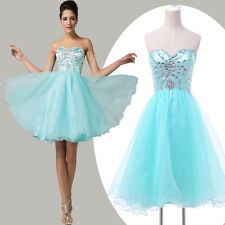 Sparkly SEQUINS Short Homecoming Formal Evening Gown Party Prom Bridesmaid Dress