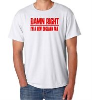 New England Damn Right Show Your City Pride Massachusetts Funny Shirt