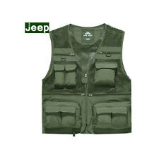 AFS JEEP MULTI-POCKETS OUTDOOR OFF-ROAD MEN'S military FISHING photograph VEST